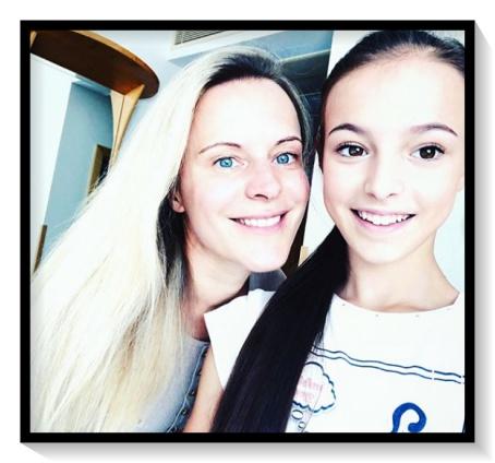 Anna、Shervakova、画像、母親