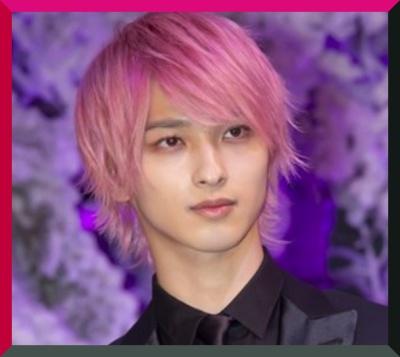 ピンク髪、横浜流星